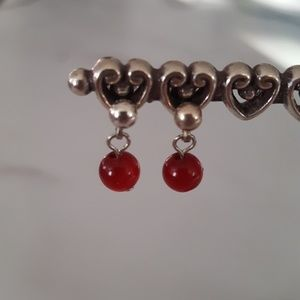 Jewelry - Candy Apple Red Earrings